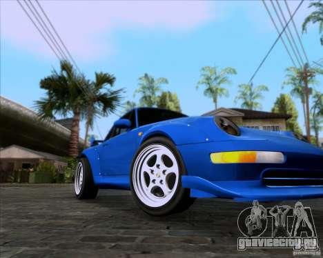 Porsche 911 GT2 RWB Dubai SIG EDTN 1995 для GTA San Andreas вид слева