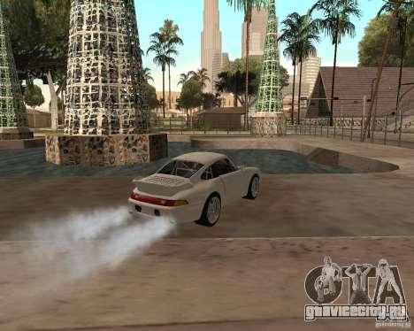 Porsche 911 Turbo 1995 для GTA San Andreas вид слева