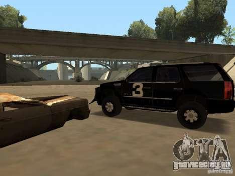 Cadillac Escalade Таллахасси для GTA San Andreas вид справа