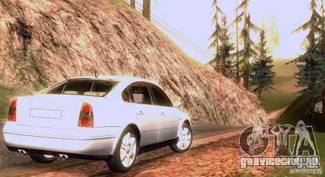 Volkswagen Passat B5 для GTA San Andreas двигатель