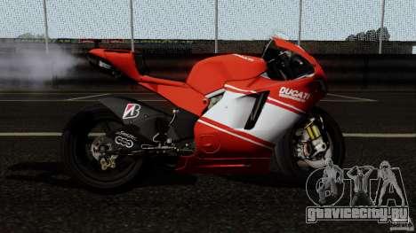 Ducati Desmosedici RR для GTA San Andreas вид слева