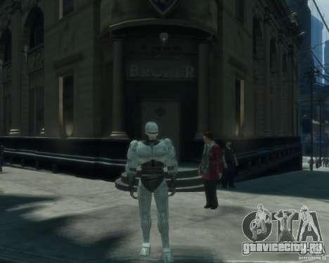 Скин Робокопа для GTA 4