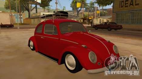 VW Beetle 1966 для GTA San Andreas