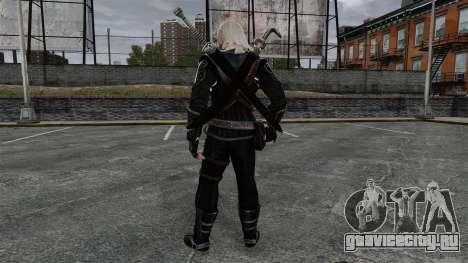 Геральт из Ривии v8 для GTA 4 третий скриншот