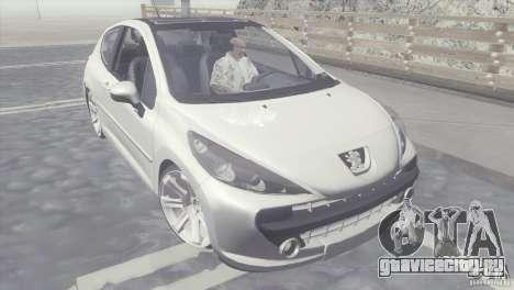 Peugeot 207 RC для GTA San Andreas