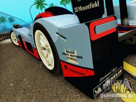Aston Martin DBR1 Lola 007 для GTA San Andreas вид снизу