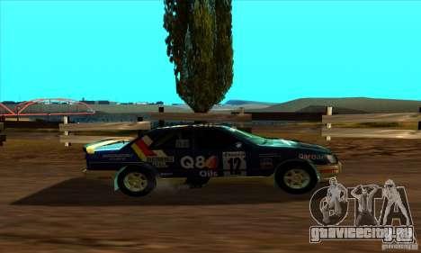 Ford Sierra RS500 Cosworth RallySport для GTA San Andreas вид сзади слева