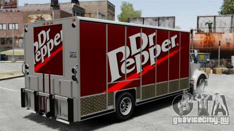 Новая реклама для грузовика Benson для GTA 4 второй скриншот