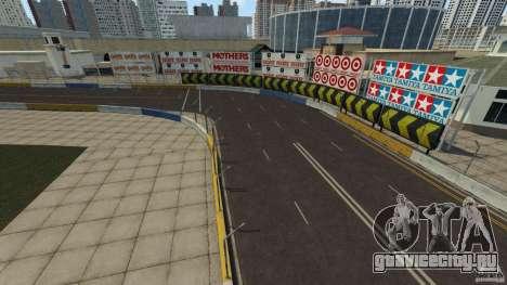 Long Beach Circuit [Beta] для GTA 4 третий скриншот