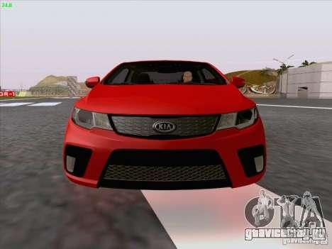 Kia Cerato Coupe 2011 для GTA San Andreas салон
