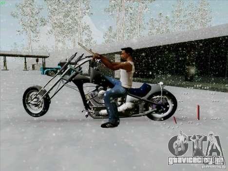 Harley для GTA San Andreas вид слева