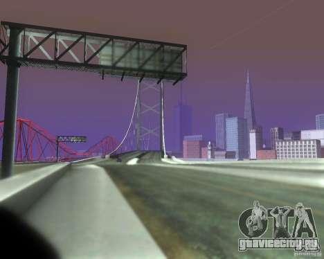 ENBSeries for medium PC для GTA San Andreas пятый скриншот