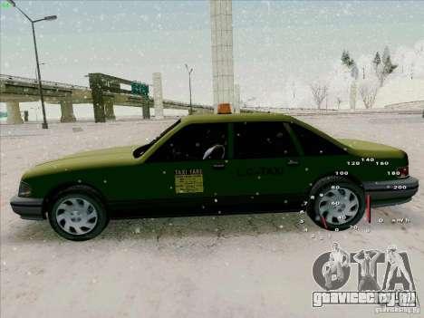 HD Taxi SA из GTA 3 для GTA San Andreas вид сзади
