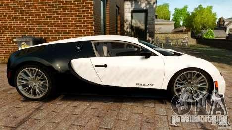 Bugatti Veyron 16.4 Super Sport 2011 [EPM] для GTA 4 вид слева