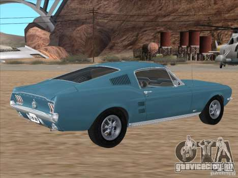 Ford Mustang Fastback 1967 для GTA San Andreas вид слева