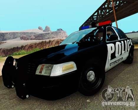 Ford Crown Victoria Police Interceptor 2011 для GTA San Andreas