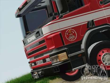 Scania 94D-260 Corpo Bombeiros SP для GTA San Andreas двигатель