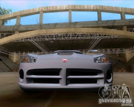 Dodge Viper SRT-10 Coupe для GTA San Andreas вид справа