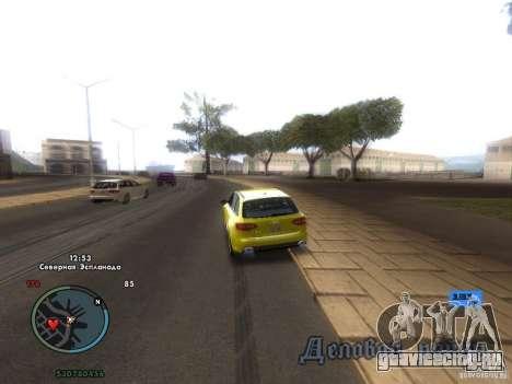Электронный спидометр для GTA San Andreas второй скриншот