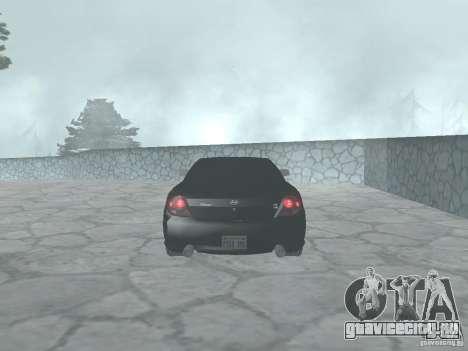 Hyundai Tiburon GT для GTA San Andreas вид справа