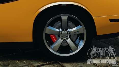 Dodge Challenger SRT8 392 2012 [EPM] для GTA 4 салон