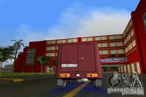 ИЖ 2715 для GTA Vice City вид изнутри