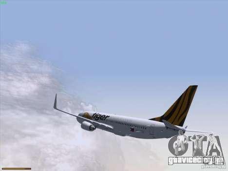 Boeing 737-800 Tiger Airways для GTA San Andreas вид сбоку