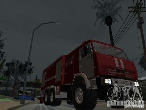 КамАЗ 43118 АЦ-7 для GTA San Andreas вид сзади