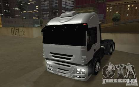 Iveco Stralis Double Trailers для GTA San Andreas