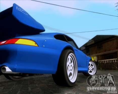 Porsche 911 GT2 RWB Dubai SIG EDTN 1995 для GTA San Andreas вид справа