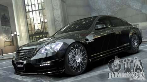 Mercedes-Benz S-Class W221 Black Bison 2009 для GTA 4