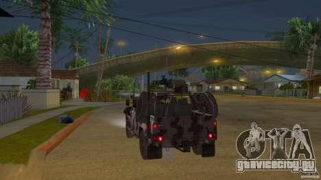 Land Rover WMIK для GTA San Andreas вид сзади слева