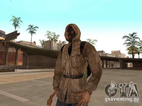 Большой пак вольных сталкеров для GTA San Andreas десятый скриншот