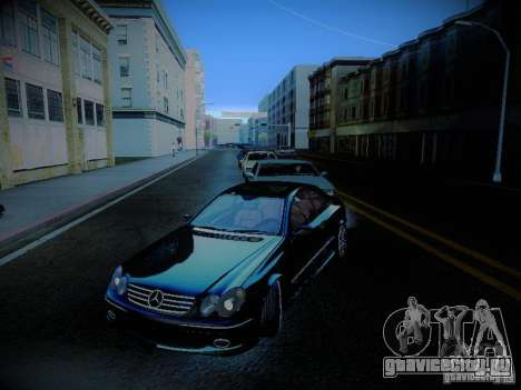 Mercedes-Benz CLK 55 AMG Coupe для GTA San Andreas вид сверху