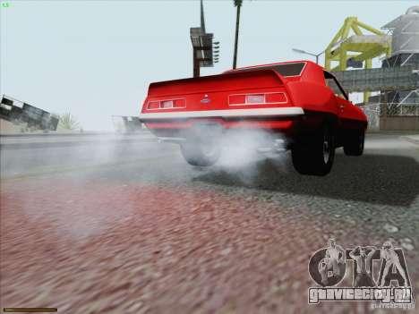 Chevrolet Camaro 1969 для GTA San Andreas двигатель