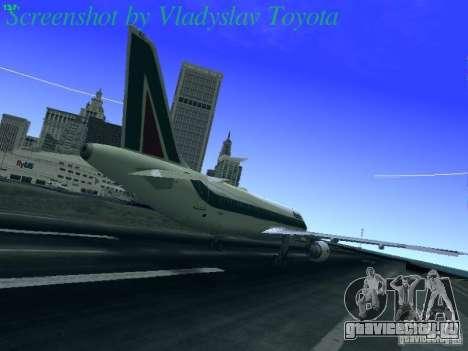 Airbus A320-214 Alitalia v.1.0 для GTA San Andreas вид справа