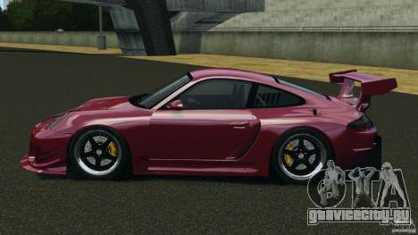 Porsche 997 GT2 Body Kit 2 для GTA 4 вид слева