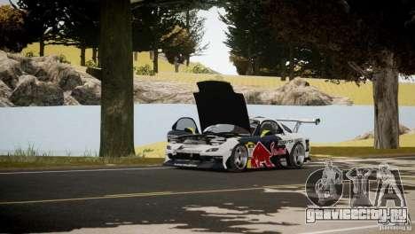 MAZDA RX-7 Mad Mike 2 для GTA 4 вид изнутри