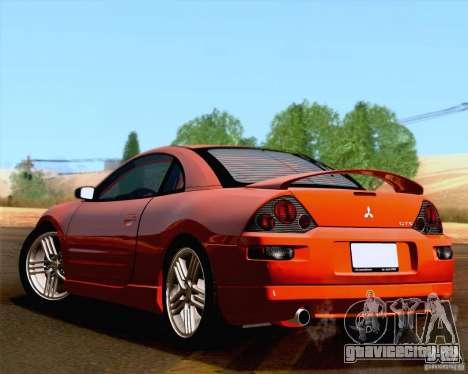 Mitsubishi Eclipse GTS 2003 для GTA San Andreas вид сзади