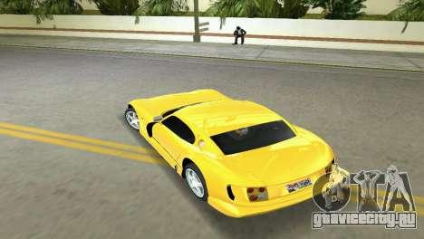 TVR Cerbera Speed 12 для GTA Vice City вид справа