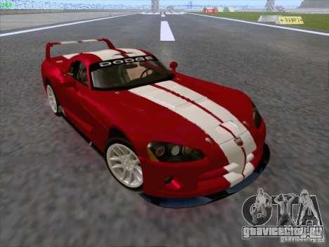 Dodge Viper GTS-R Concept для GTA San Andreas вид сбоку