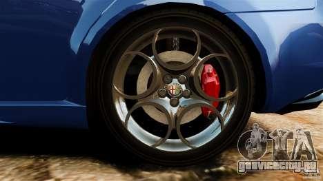 Alfa Romeo 159 TI V6 JTS для GTA 4 вид сверху