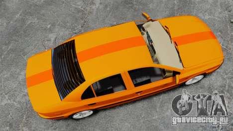 Iran Khodro Samand LX Taxi для GTA 4 вид справа