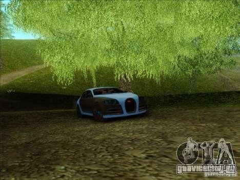 Bugatti Galibier 16c для GTA San Andreas вид изнутри