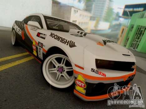 Chevrolet Camaro Hankook Tire для GTA San Andreas вид слева