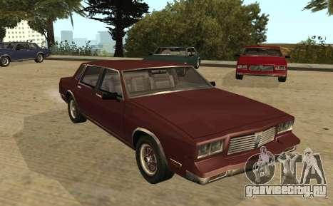 Eon Tahoma для GTA San Andreas