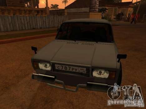 Ваз 2107 Coupe для GTA San Andreas вид справа