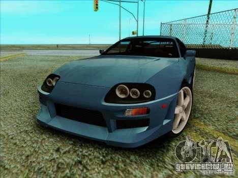 Toyota Supra RZ 1998 для GTA San Andreas вид слева