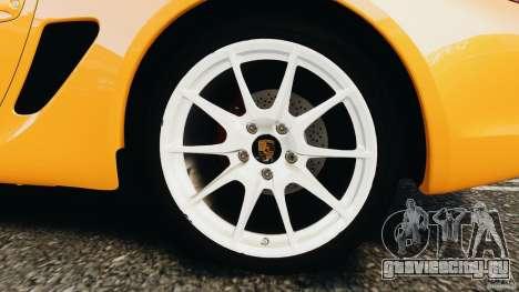 Porsche Cayman R 2012 [RIV] для GTA 4 вид сбоку