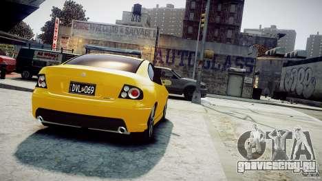 Holden Monaro для GTA 4 вид слева